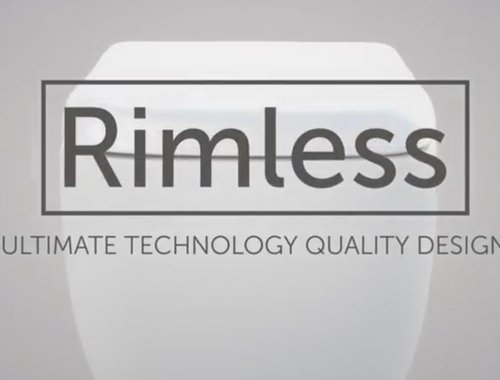 Rimless. The ultimate technology for your bathroom.