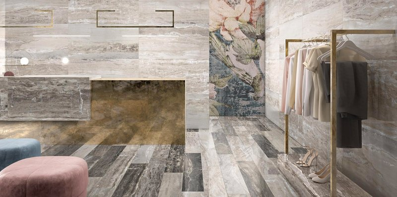 Wall And Floor Tiles Made With Ceramic And Porcelain Stoneware