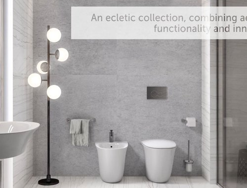 RAK-Sensation bathroom suite from RAK Ceramics