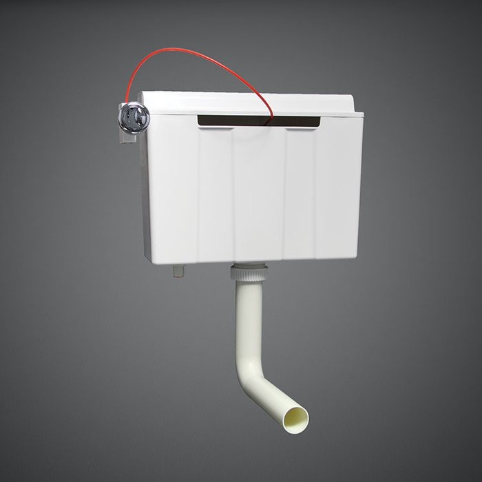 Bottom Inlet Concealed Cistern For Furniture 82 Cm