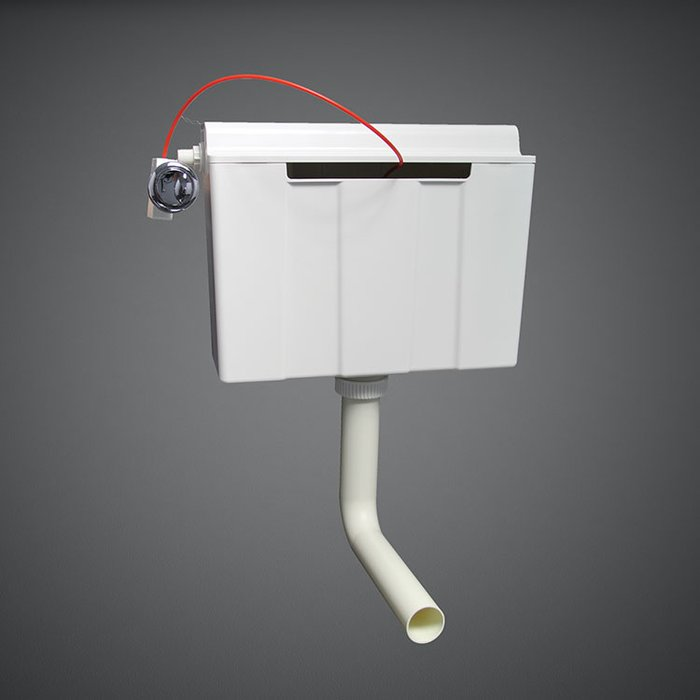 Side Inlet Concealed Cistern For Furniture 82 Cm