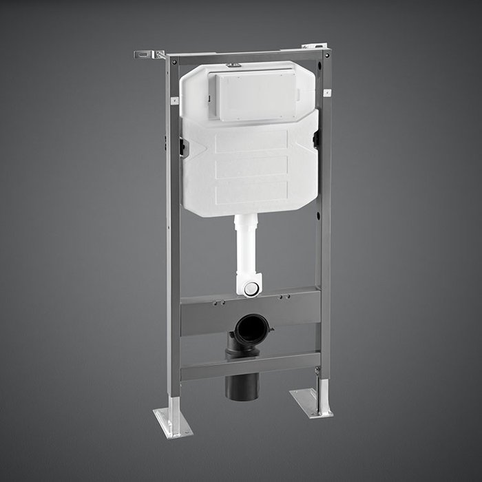 12 cm WALL HUNG CONCEALED CISTERN SELF STANDING