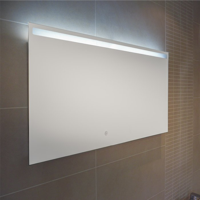 Manhattan LED Mirror with Demister Pad (H)500x(W)900mm