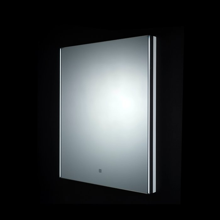 Resort LED Mirror with Digital Clock, Demister Pad, Magnifying Mirror & Shaver Socket (H)1150x(W)600mm