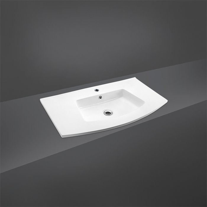 CRYSTAL DROP IN WASH BASIN 81CM