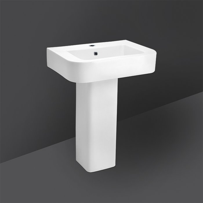 RONDO FULL PEDESTAL WASH BASIN