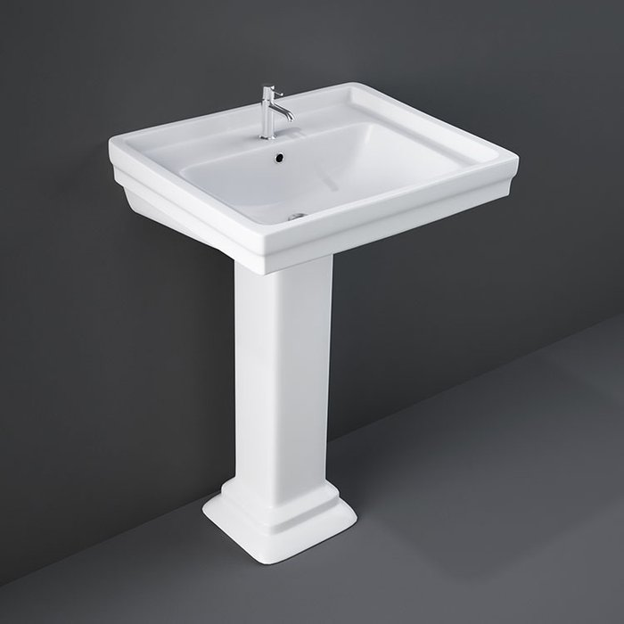 Pedestal Wash Basin 660 X 510 Mm Rak Bristol