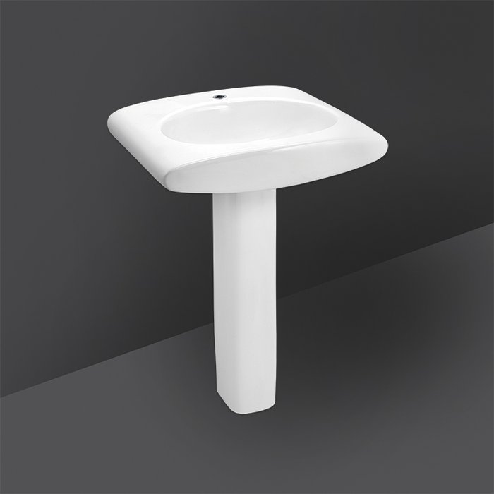 RIVIERA FULL PEDESTAL WASH BASIN