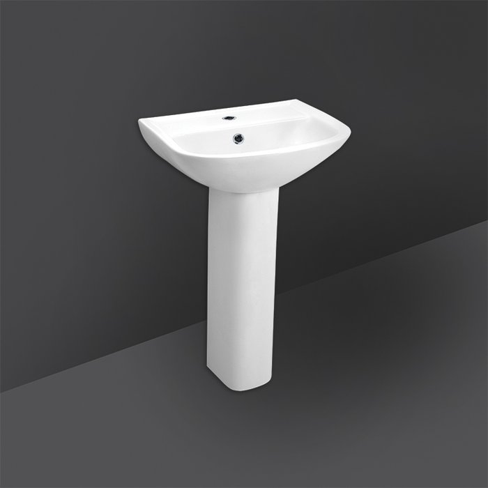 FLORA FULL PEDESTAL WASH BASIN 51CM