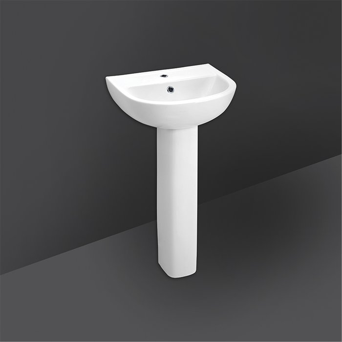 FLORA FULL PEDESTAL WASH BASIN 45CM