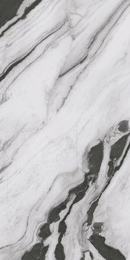Panda Marble Marble High glossy Gres porcelain 120x240cm Domestic Purpose Light Commercial Traffic Area