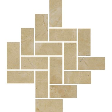 MARFIL MIX BEIGE / Mosaic / Smooth / High glossy / Straight