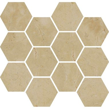 IMPERIAL BEIGE / Mosaic / Smooth / High glossy / Straight