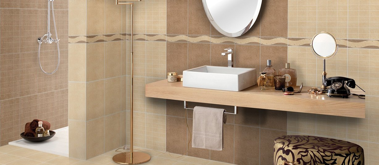 Floor and wall bathroom tiles | RAK Ceramics