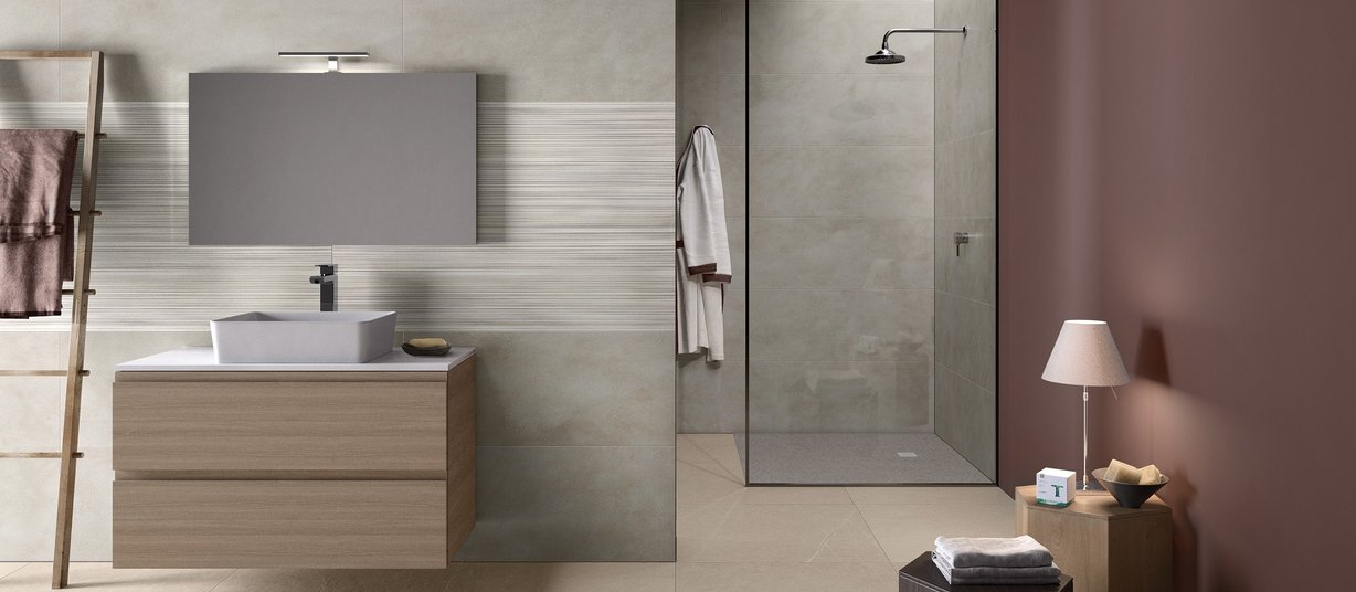 braid Grey tiles Modern style