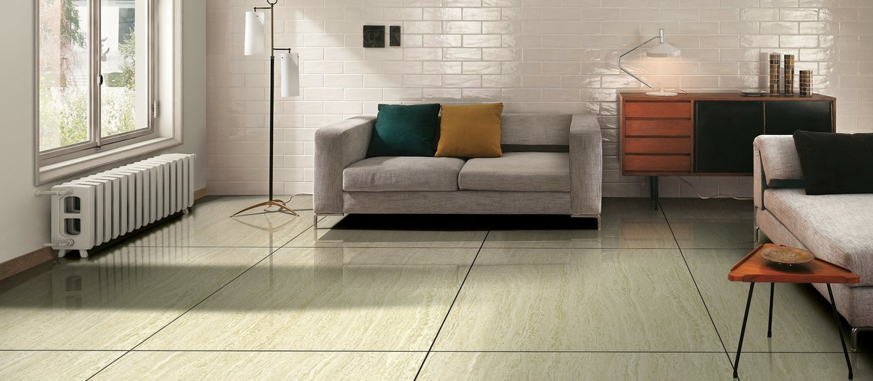 delta Green tiles Modern style Living