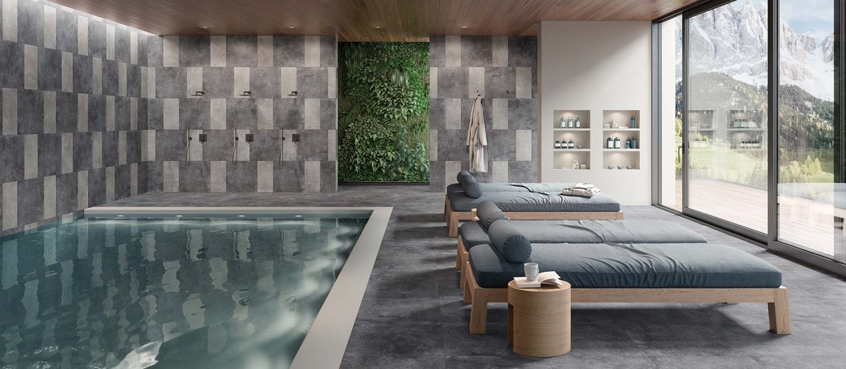 fashion stone Grey tiles Modern style Light Commercial