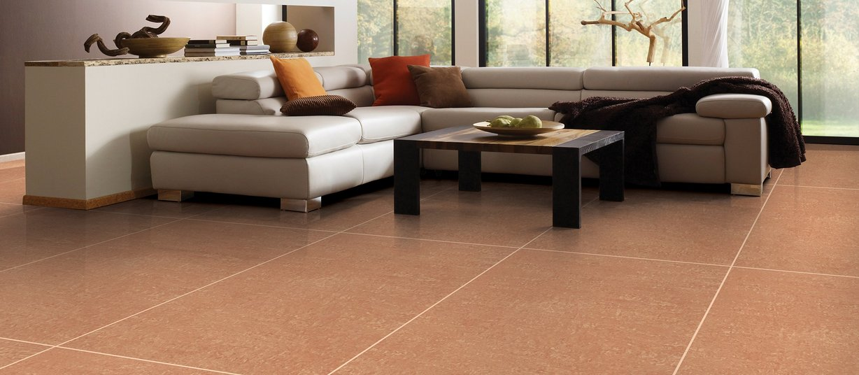 kratos Brown tiles Modern style Living