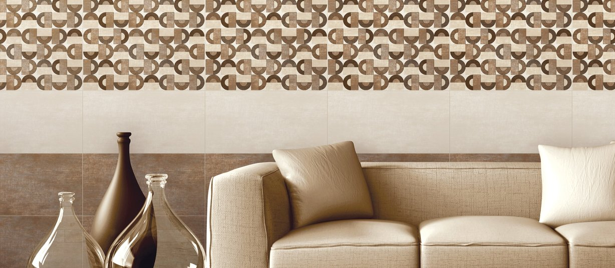 lithos Beige, Brown and Mix tiles Modern style Living