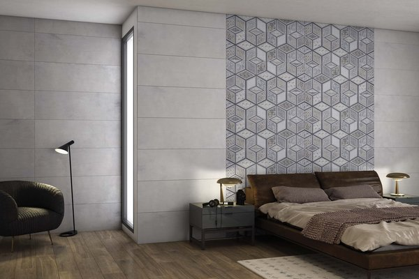 lithos Grey tiles Modern style Living
