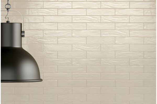 loft brick White tiles Modern style Light Commercial