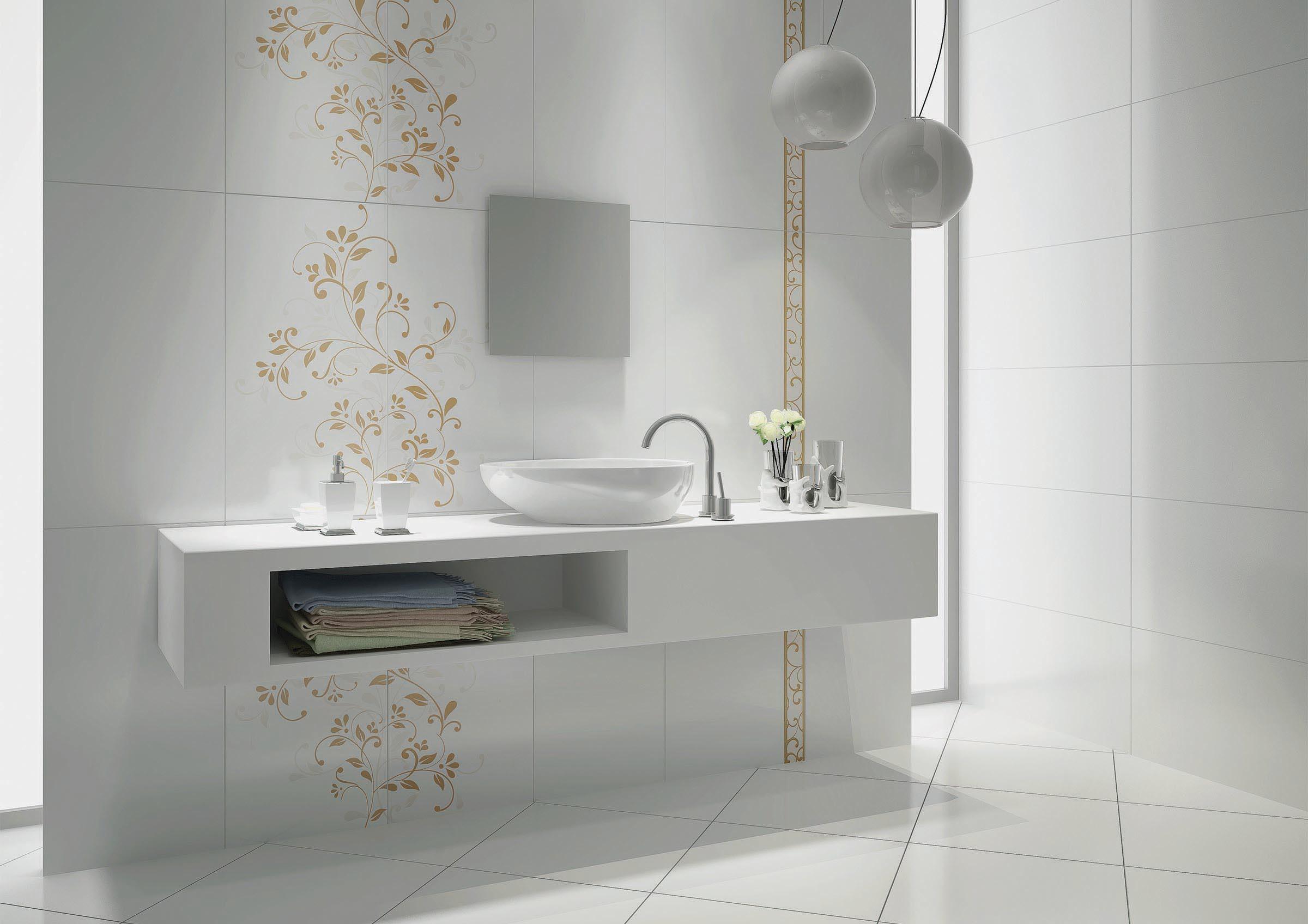 Floor and wall bathroom tiles   RAK