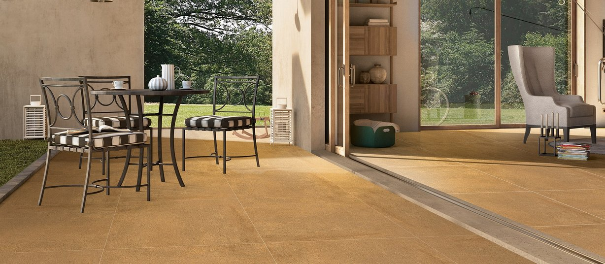 marzin Brown tiles Modern style Outdoor