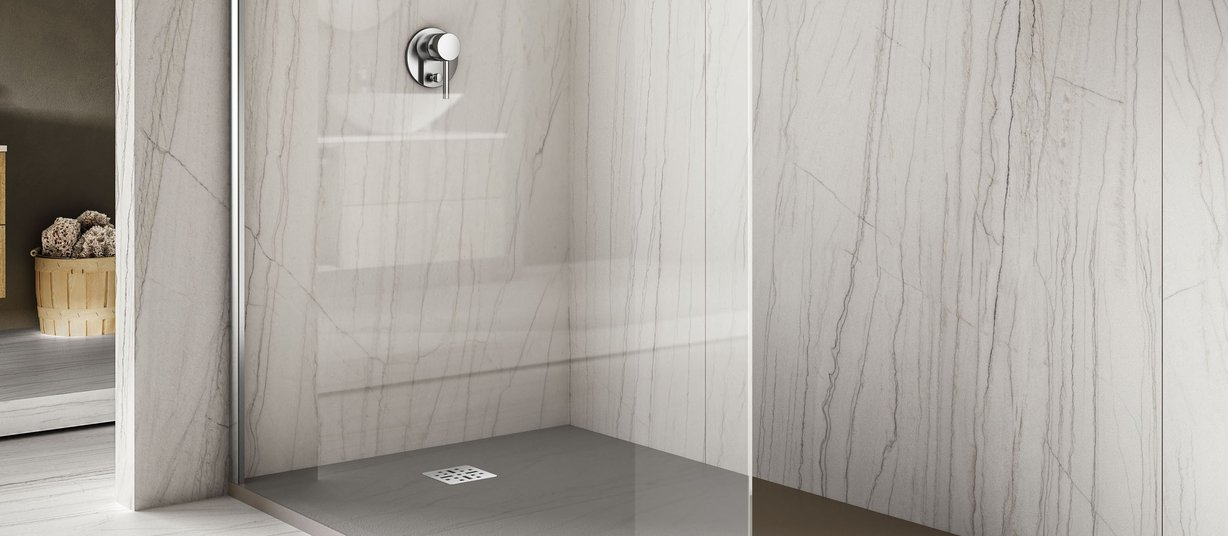 maximus macaubas White tiles Modern style Bathroom