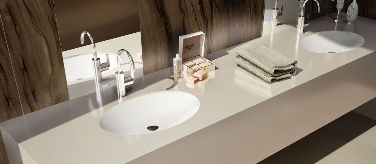 Maximus uni Ivory tiles Modern style Bathroom