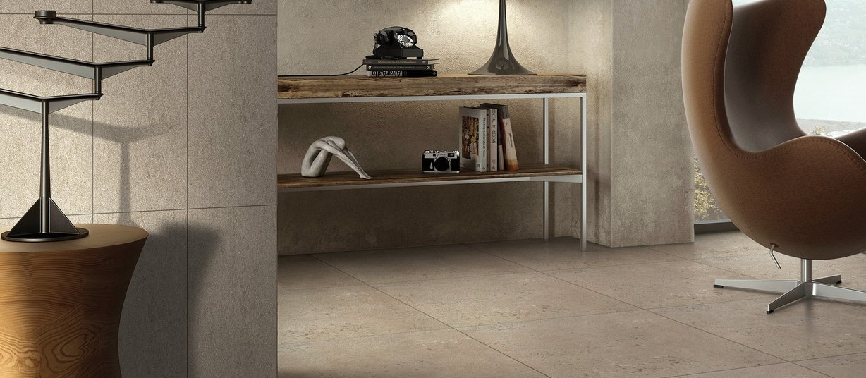 naturo Brown tiles Modern style Living