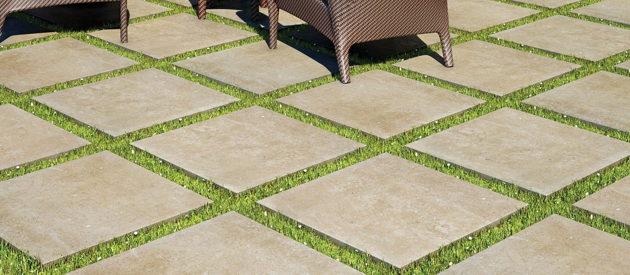 outdoor collection Beige ceramica Moderno estilo Exterior