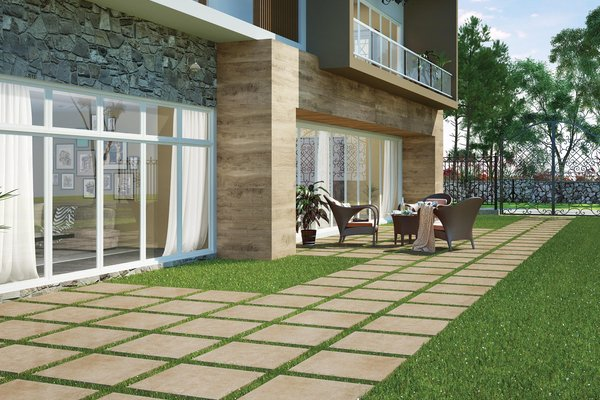 outdoor collection Beige tiles Modern style Outdoor