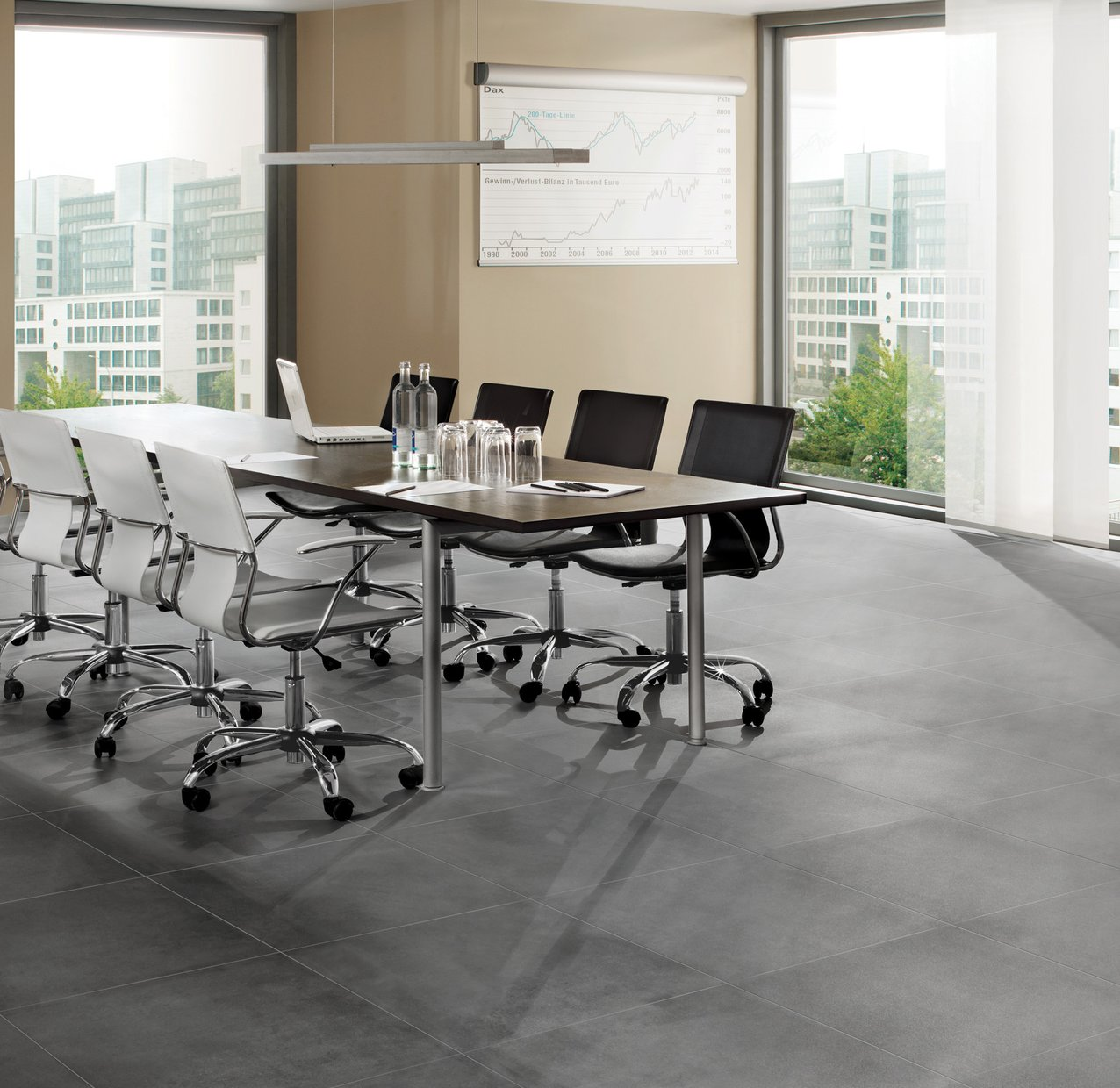 surface 2.0 Grey tiles Modern style Living