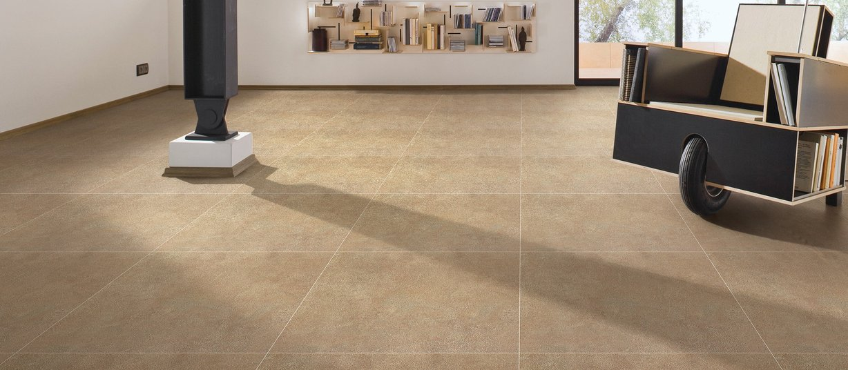 surface Brown tiles Modern style Living