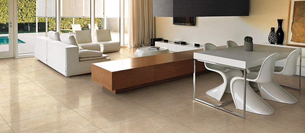 zodiaq Brown tiles Modern style Living